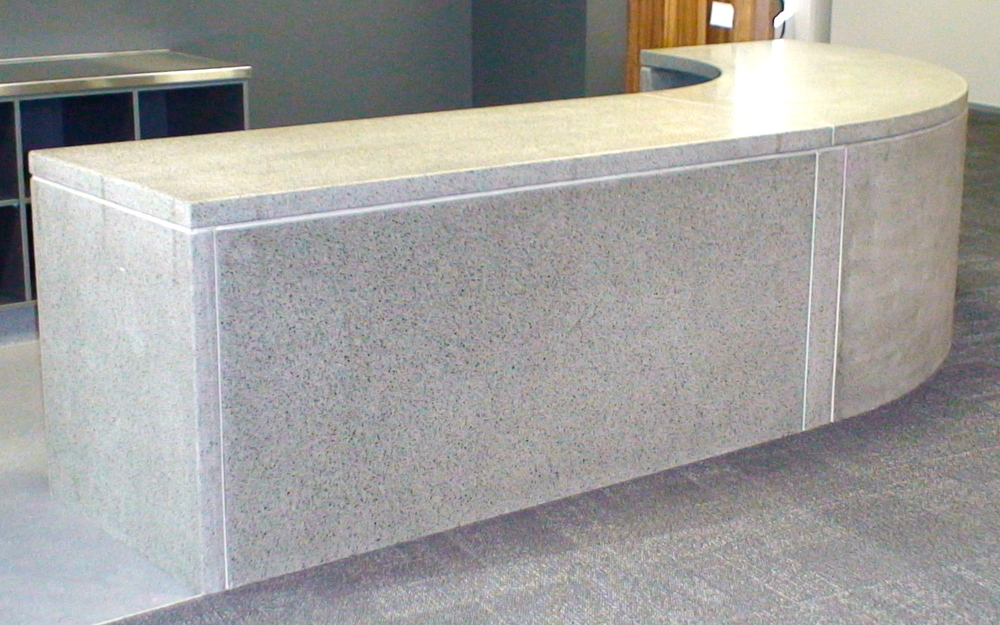 Granite Office Table Reception